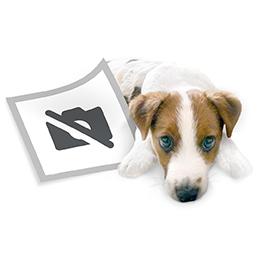 """CreativDesign Schlüsseltasche """"CD"""" roter Streifen mit Logo bedrucken als Werbeartikel"""