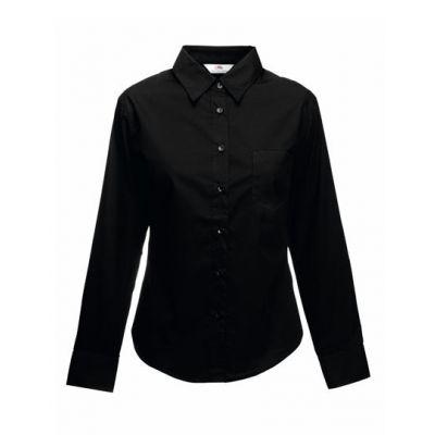 Ladies Long Sleeve Poplin Shirt