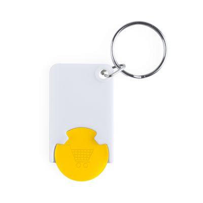 Zabax Schlüsselanhänger mit Einkaufswagenchip bedrucken