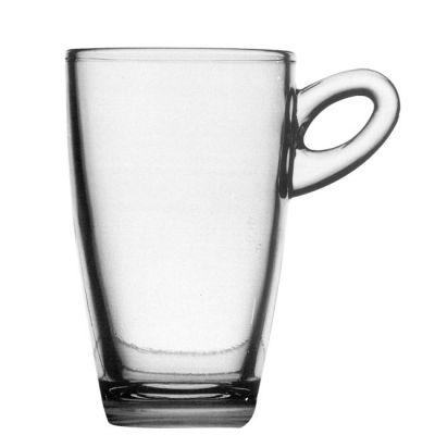 Glashenkelbecher Arizona Macchiato inkl. 1c Druck