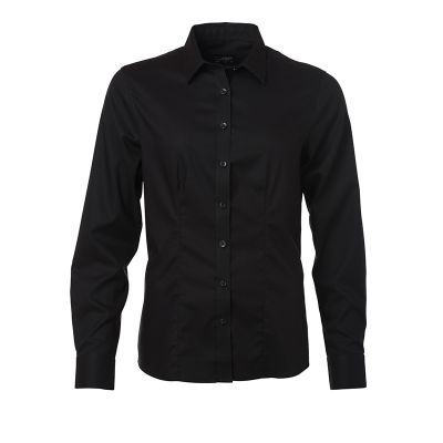 Ladies' Shirt Longsleeve Micro-Twill