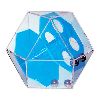 """Pussycat Geduldspiel """"Dymaxion Two"""" transparent-blau EL0035800"""