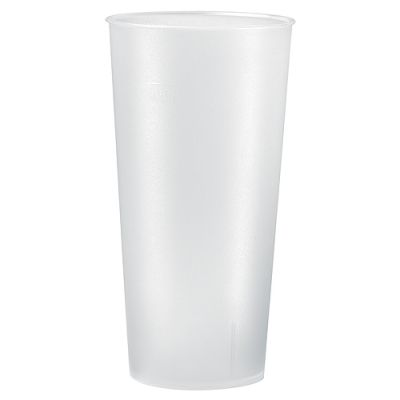 "Trinkbecher ""Mehrweg"" 0,5 l beige EL0069400"