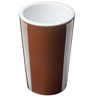 """Kaffeebecher """"Mocca"""" braun-weiß EL0073200"""
