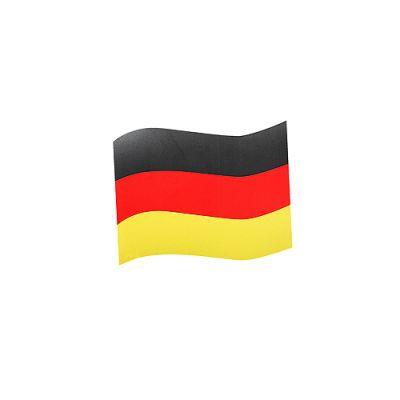 """Automagnet """"Flagge"""" klein schwarz-rot-gelb EL0096400"""