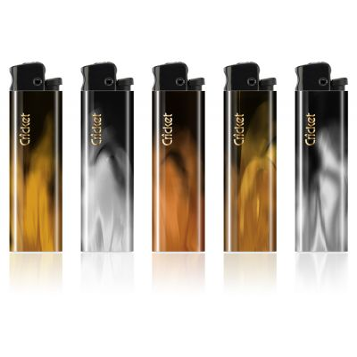 Feuerzeug Cricket Fusion Platinum Reibrad bedrucken (EU0001500)