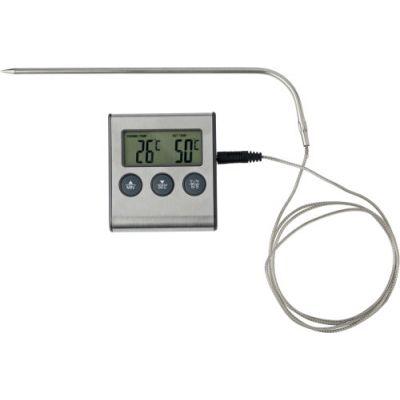 Fleisch-Thermometer 'Cuisine' schwarz,silber - 105650