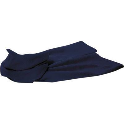 Fleece-Schal 'Kitzbühel' aus Polyester-Fleece blau - 1743