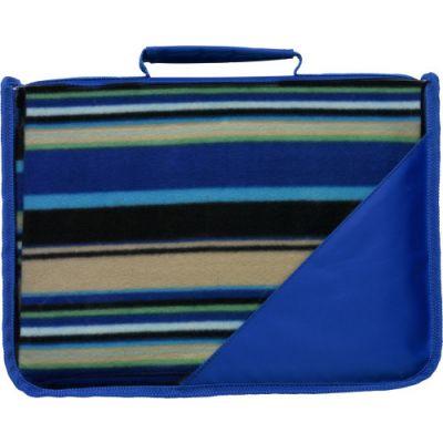 Fleece-Picknickdecke 'Shower' blau - 1923
