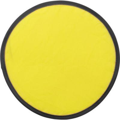 Wurfscheibe 'Sky' mit flexiblem Drahtseil gelb - 3710