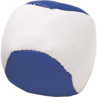 Jonglierball 'Single' aus Kunstleder blau - 3956
