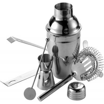 Cocktailshaker-Set silber - 468032