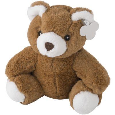 Plüsch-Teddy-Bär 'Barny' ohne T-Shirt braun - 501211
