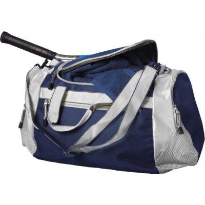 Sporttasche 'Como' aus Polyester blau - 5675