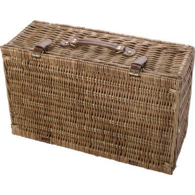 Picknickkorb 'Premium' für 4 Personen braun - 579511