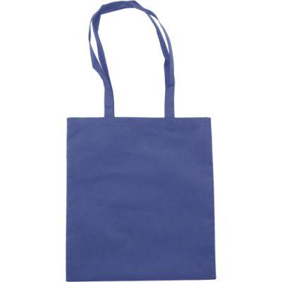 Einkaufstasche 'Berlin' aus Non-Woven blau - 6227