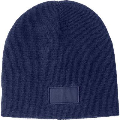 Mütze 'Basel' aus 100% Acryl blau - 6735