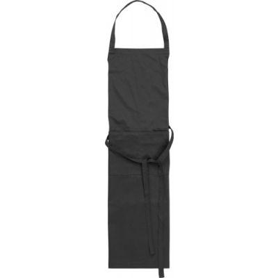 Küchenschürze 'Cuisine' aus Polyester/Baumwolle schwarz - G7635