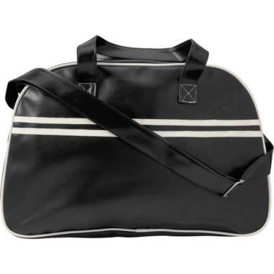 Sporttasche 'Brasilia' aus PU schwarz - G7669