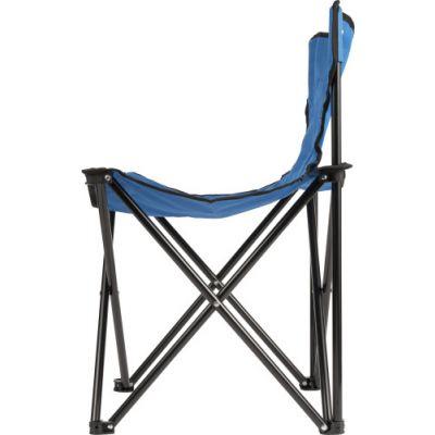 Faltbarer Campingstuhl 'Fold' aus 600D Polyester blau - G899523
