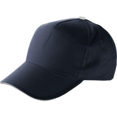 Baseball-Cap 'Dallas' aus Baumwolle blau - 9114