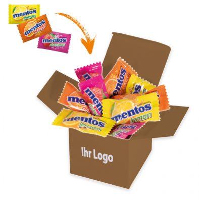 Werbegeschenk Color Mentos Box Braun (WH0003300)