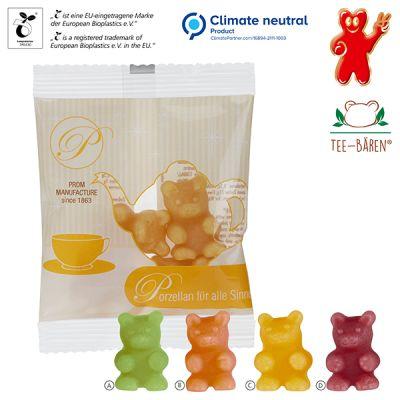 Tee-Bären® im kompostierbaren Tütchen