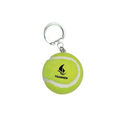 Tennisball-Schlüsselanhänger gelb incl. 4c Druck LL0018700