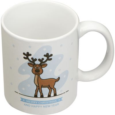 Kaffeetasse aus Keramik, 300 ml weiß