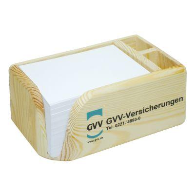 Zettelboxen, Zettelspeicher 3000 Werbeartikel mit Logo (MW0000100)