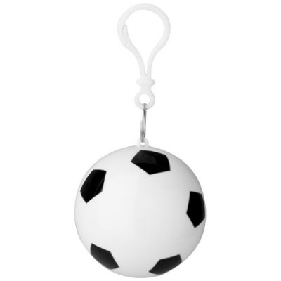 Xina Regenponcho in Fußball-Hülle mit Schlüsselanhänger PF1196300