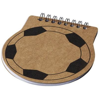 Score Notizblock in Fußballform PF1152000