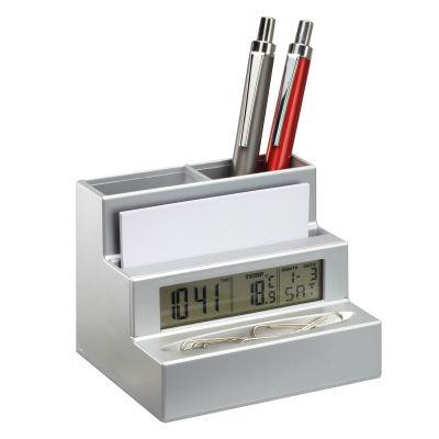 Stifthalter mit Uhr REFLECTS
