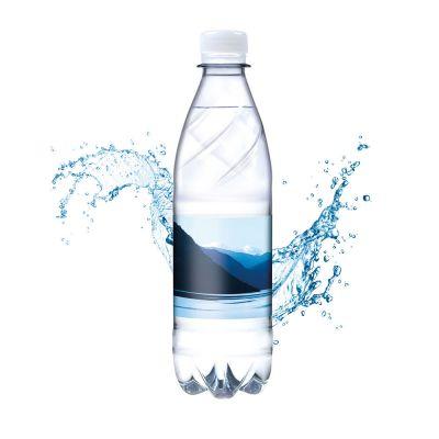 500 ml Tafelwasser, sanft prickelnd (Flasche Budget) - Smart Label (Export - Pfandfrei) SA0023800 bedrucken