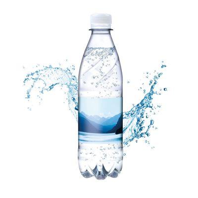 500 ml Tafelwasser spritzig (Flasche Budget) - Smart Label (Export - Pfandfrei) SA0023900 bedrucken