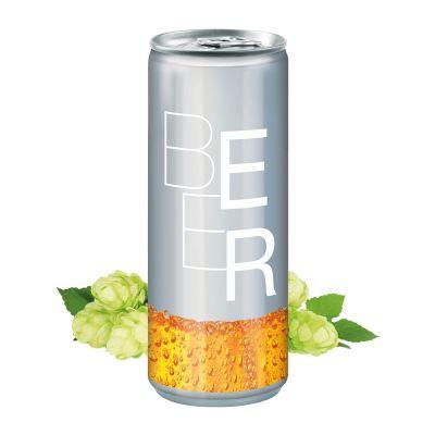 250 ml Bier - No Label Look (DPG) SA0002400 bedrucken