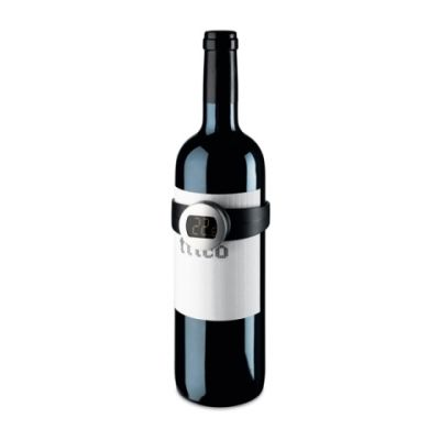 Digitalthermometer für Weinflaschen schwarz ST0050100