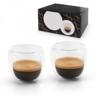 2 teiliges Espresso Set transparent ST0050900