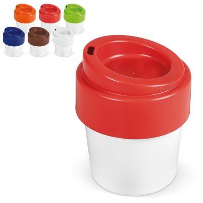 Heiß-aber-cool Kaffeebecher mit Deckel 240ml LT98707