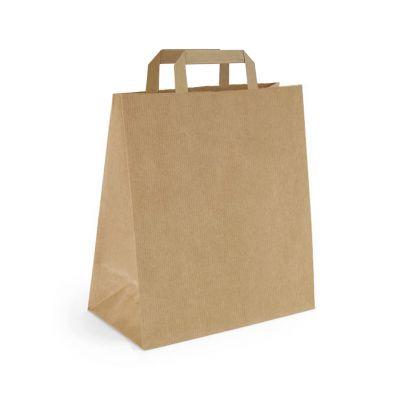 Papiertragetasche 25 x 15 x 32 cm, flacher Henkel (FH0000300)