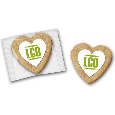 Cookie als Herz klein (ZU0038400) bedrucken